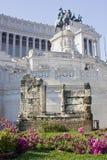 Roma: Venezia quadrato, l'altare della patria Immagini Stock Libere da Diritti