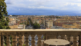 Roma. View from vatican apartment of da vinci Royalty Free Stock Photography