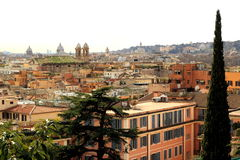 Roma - vista aerea Fotografia Stock