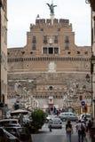 Roma - vista del ` Angelo di Castel Sant Fotografia Stock Libera da Diritti