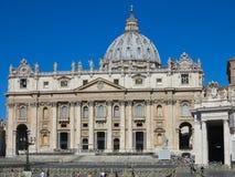 19 07 2017, Roma, Włochy: ludzie na piazza San Pietro St Peter ` Zdjęcie Royalty Free