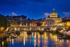 Roma y puesta del sol Fotos de archivo