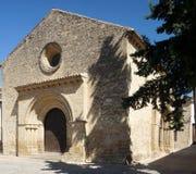 Romaanse kerk royalty-vrije stock fotografie