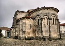 Romaanse kerk van de Tarieven van S. Pedro DE Stock Foto