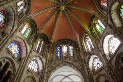 Romaanse St. Gereon kerk Stock Afbeeldingen