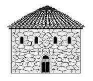 Romaanse stijl in architectuur Stock Fotografie