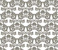 Romaanse stijl gestileerd ornamentpatroon Stock Afbeeldingen