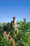 romagna της Αιμιλία Ιταλία brisighella clocktower Στοκ Φωτογραφίες
