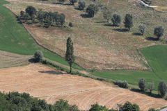 Romagna Italian rural landscape Royalty Free Stock Photo