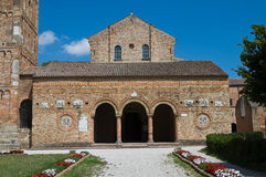 romagna pomposa emilia Италии codigoro аббатства Стоковая Фотография