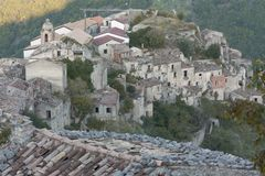 Free Romagnano Al Monte, A Ghost Town In The Province Of Salerno In Campania, Italy Royalty Free Stock Photography - 146850417