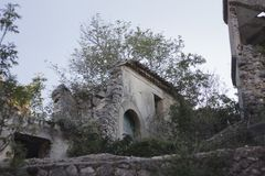 Free Romagnano Al Monte, A Ghost Town In The Province Of Salerno In Campania, Italy Stock Photos - 146851753