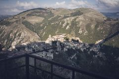 Free Romagnano Al Monte, A Ghost Town In The Province Of Salerno In Campania, Italy Stock Photos - 146852813