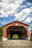 Romain Caron Covered Bridge Stock Images