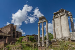 Romain fördärvar, Italien Royaltyfri Bild
