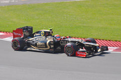 Romain Grosjean in 2012 F1 Canadian Grand Prix Royalty Free Stock Photography