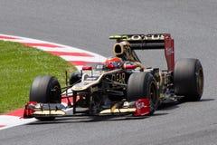 Romain Grosjean de lotus Photographie stock