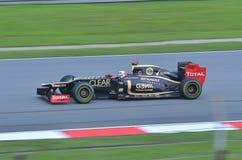 Romain Grosjean Loto-Renault Immagine Stock Libera da Diritti