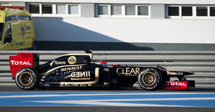 Romain Grosjean - Lotus Stock Images