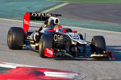 Romain Grosjean (Lotus) Royalty Free Stock Image