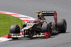 Romain Grosjean of Lotus Stock Photography