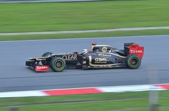 Romain Grosjean Lotus-Renault Royalty Free Stock Image