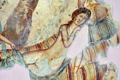 Romain Mosaic, Leptis Magna Fotografia de Stock