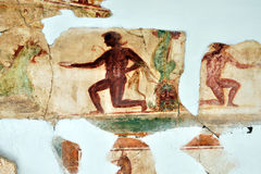 Romain Mosaic, Leptis Magna Imagem de Stock Royalty Free
