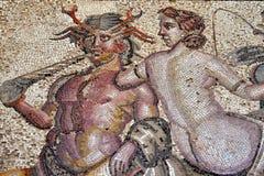 Romain mozaika, Leptis Magna Zdjęcia Royalty Free