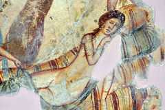 Romain mozaika, Leptis Magna fotografia stock