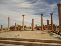 Romain ruina ALGIERIA - BATNA - Fotografia Royalty Free
