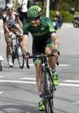Romain Sicard команды Europcar Стоковые Фотографии RF