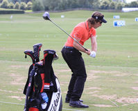 Romain Wattel al golf francese apre 2013 Fotografie Stock Libere da Diritti