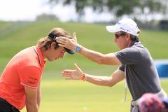 Romain Wattel au golf français ouvrent 2013 Photo libre de droits