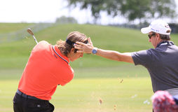 Romain Wattel at The French golf Open 2013 Stock Photo
