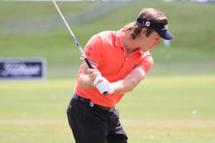 Romain Wattel at The French golf Open 2013 Royalty Free Stock Photography