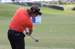 Romain Wattel at The French golf Open 2013 Royalty Free Stock Photos