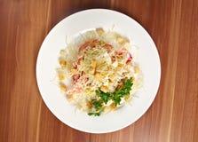 Romaine Salad Leaf Fotos de archivo libres de regalías