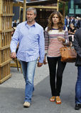 Roman Abramowitsch with girlfriend Daria Zhukova Stock Photos