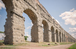 Roman acqueduct Stock Images