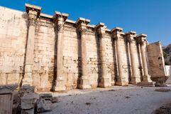 Roman Agora architecture in Athens.Greece. Stock Photos