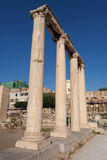Roman Agora, Athene Royalty-vrije Stock Fotografie