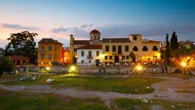 Roman Agora, Athene Royalty-vrije Stock Foto
