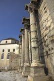 Roman Agora in Athene Griekenland Royalty-vrije Stock Afbeeldingen