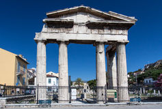 Roman Agora Athens Stock Photo