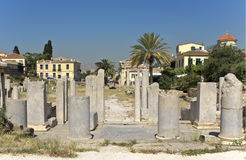 Roman agora at Athens, Greece Royalty Free Stock Photo