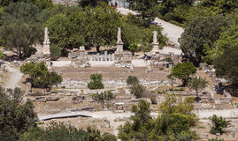 Roman Agora Royalty Free Stock Image