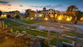 Roman Agora, Athens. Royalty Free Stock Image