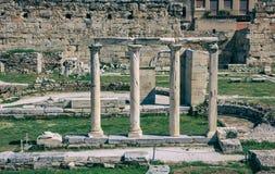 Roman Agora de Atenas, Grécia Imagem de Stock Royalty Free
