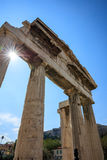 Roman Agora de Atenas, Grecia Imagen de archivo